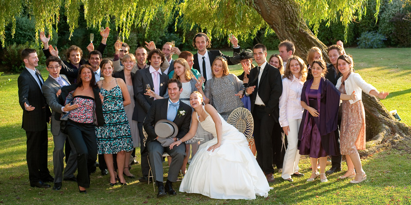 Photographe mariage yvelines 78 paris ile de france - Photo de groupe mariage ...